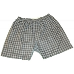 Men's Assorted Colored Checkered Boxers (12 pack)