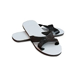 Cross Strap Thong Sandals