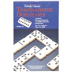 Plastic Double Six Tournament Dominoes