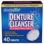 Freshmint Denture Cleanser Tablets