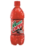 Mountain Dew Code Red 20 oz.