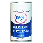 Magic Shave Powder Blue Label