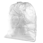 White Laundry Bag