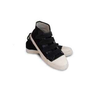 4 Strap Velcro Canvas High Top