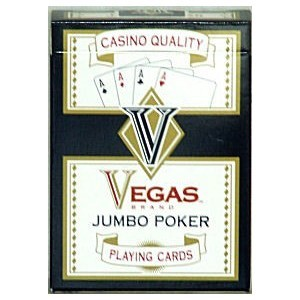 Vegas Jumbo Poker Playing Cards