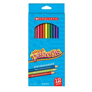 Colored Drawing Pencils 7 inch Long