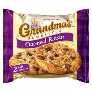 Grandma's Oatmeal Raisin Cookie
