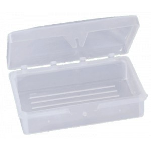 Clear Hinged Soap Box - 10/bag - 1000/case